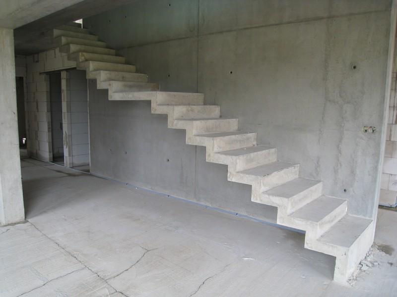 устройство лестницы из бетона фото