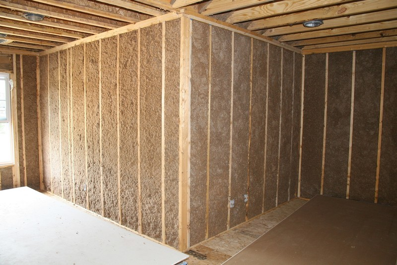 как утеплить стены дома из бруса фото