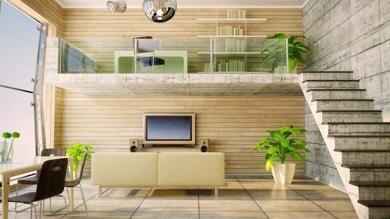 дом с промежуточным этажом фото
