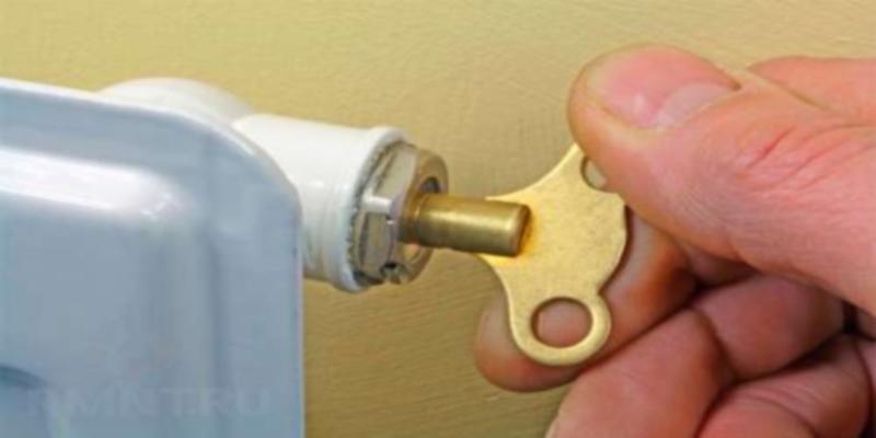 ключ для крана маевского фото