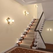 Подсветка лестницы: варианты самостоятельного изготовления