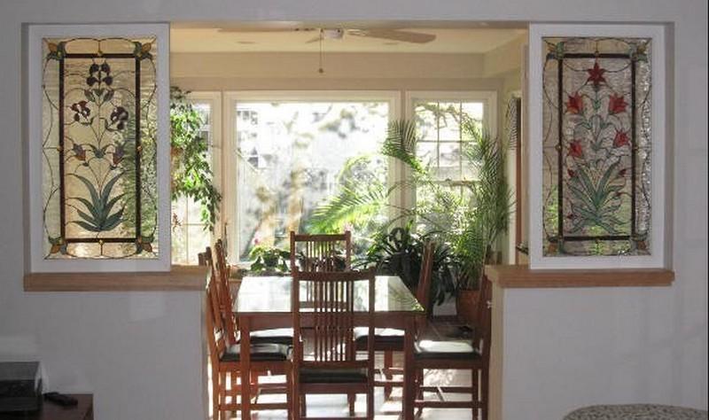 межкомнатные окна в стене фото