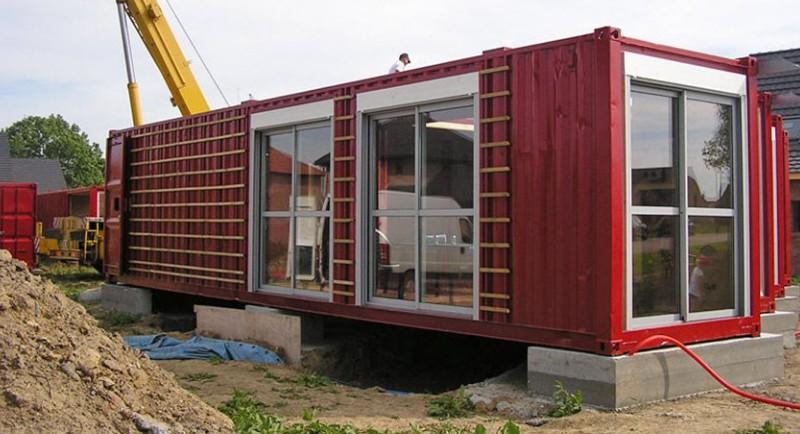 строительство домов из контейнеров фото