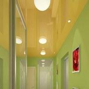 Потолок в прихожей: различные решения