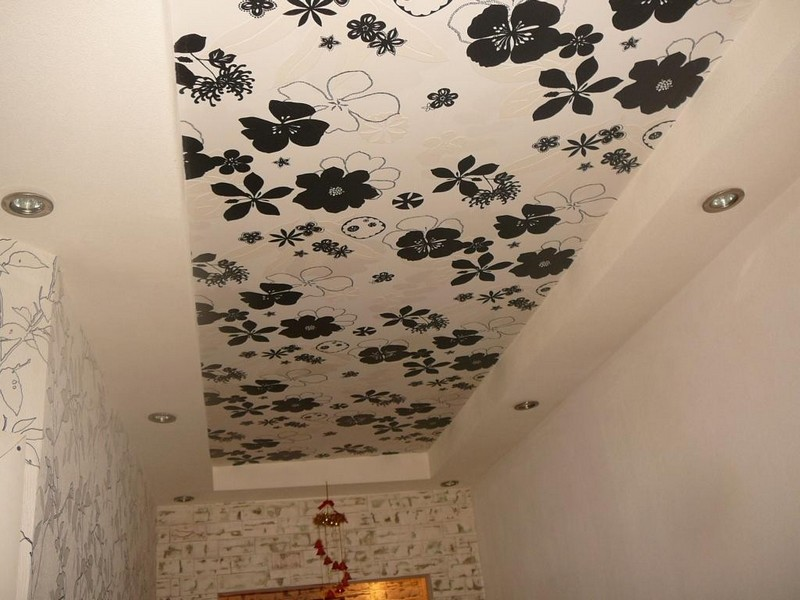 какой лучше потолок в прихожей фото