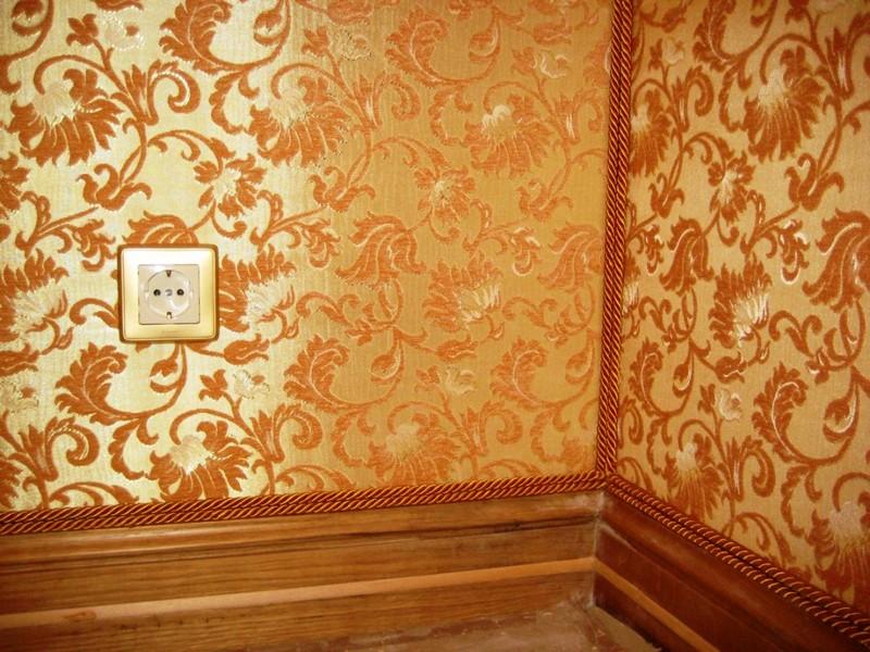 современные варианты отделки стен фото