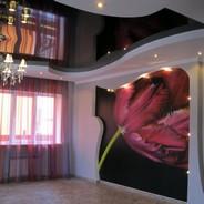 Натяжные стены: модный декор жилых помещений